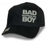 Лаконичная черная бейсболка Bad Boy