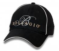 Лаконичная черная бейсболка Bellagio