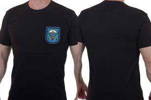 Лаконичная футболка с вышитым знаком 54-й ОДШБ 31 гв. ОДШБр - заказать оптом