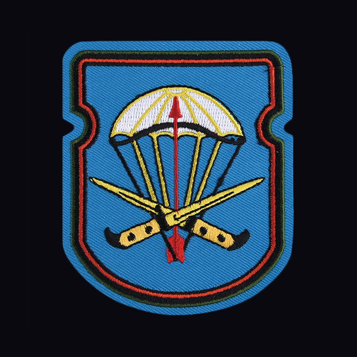 Лаконичная футболка с вышитым знаком 54-й ОДШБ 31 гв. ОДШБр - купить в подарок