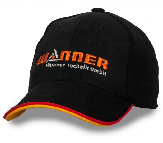 Лаконичная мужская бейсболка Wanner