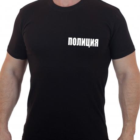 Лаконичная мужская футболка Полиция