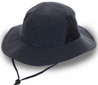 Лаконичная шляпа с ремешком и сеткой. Выбор отдыхающих и туристов