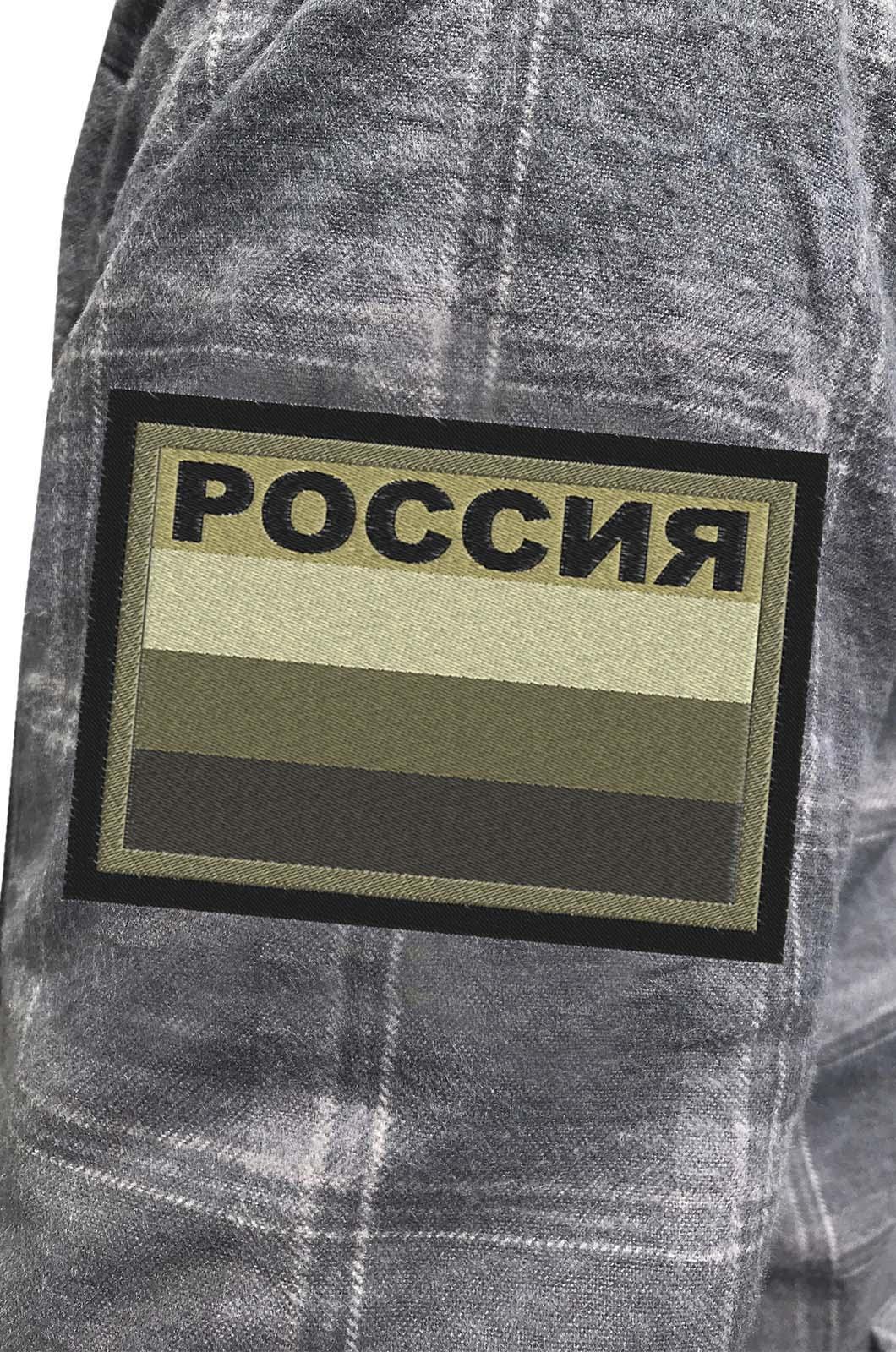 Нашивки полевые «Россия» - цена производителя