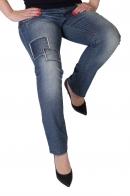 Латанные женские джинсы от немецкого бренда AjC.