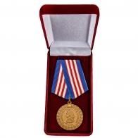 Латунная медаль МВД 300 лет Российской полиции - в футляре