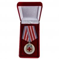 Латунная медаль За борьбу с пандемией - в футляре