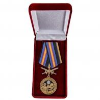 Латунная медаль За службу в Инженерных войсках - в футляре