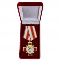 Латунная медаль За заслуги в медицине - в футляре