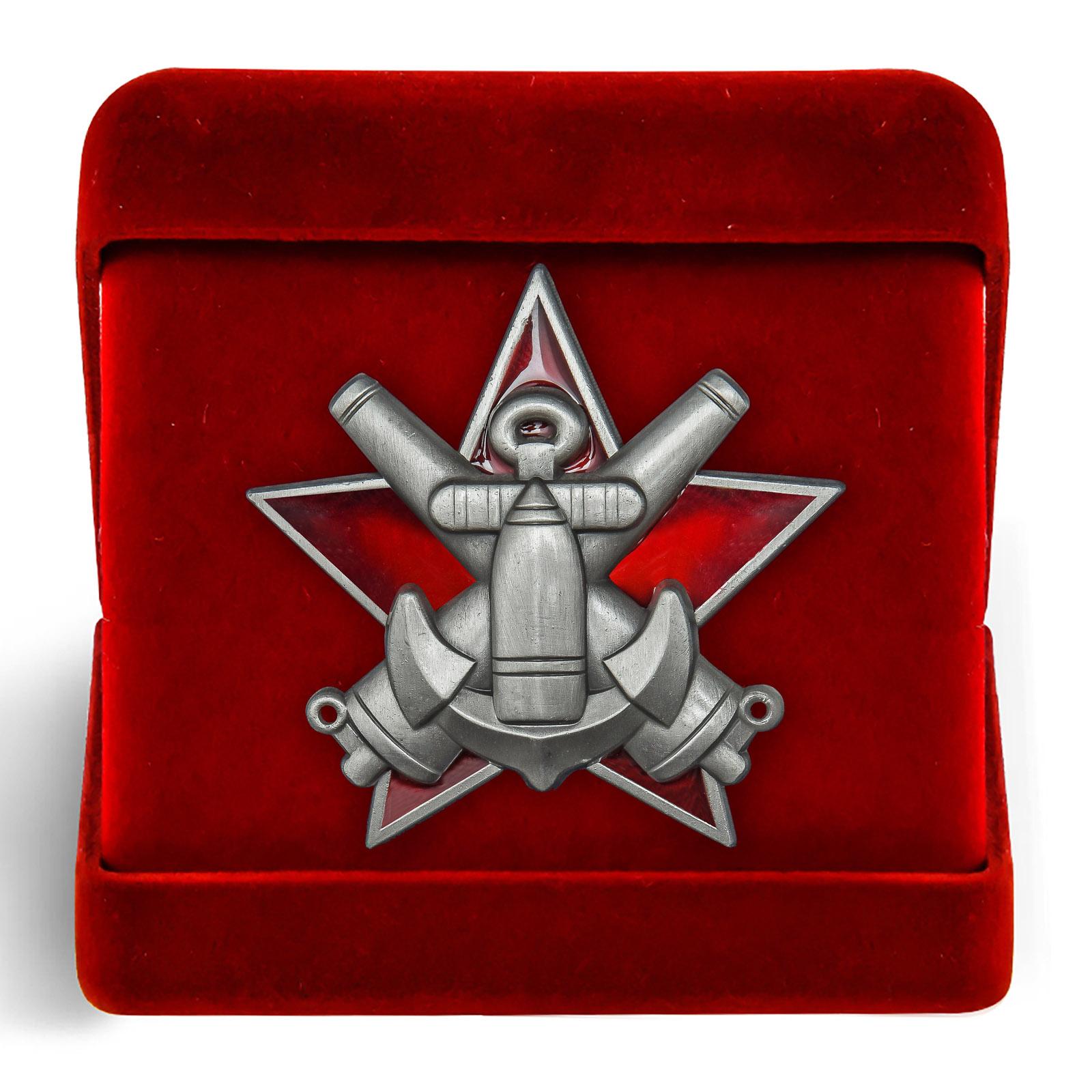 Латунный знак За отличную морскую боевую подготовку