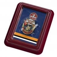 Латунный знак За службу в Спецназе ГРУ - в футляре