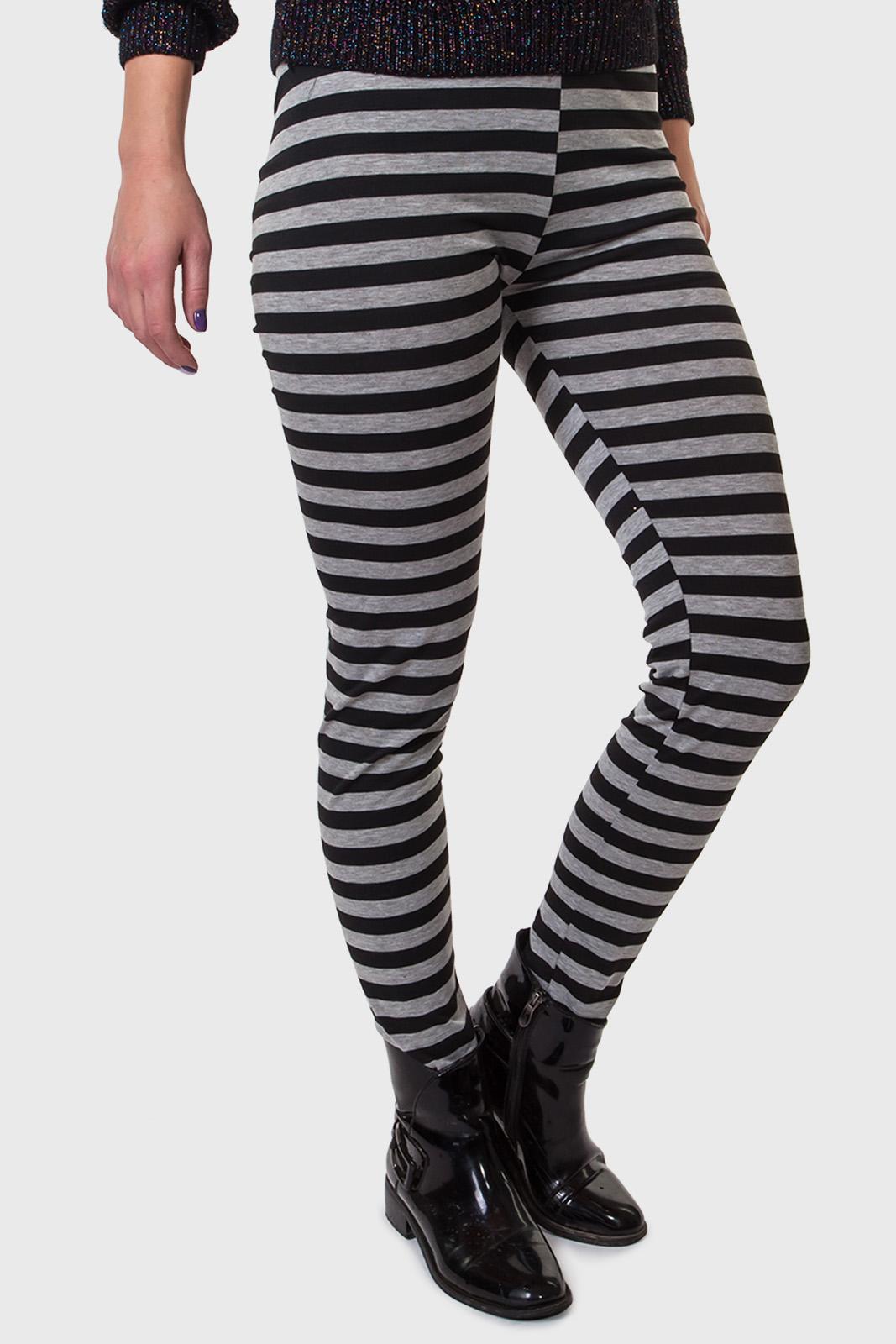 Фирменные леггинсы для девушек – модные полосатые фасоны LOBO