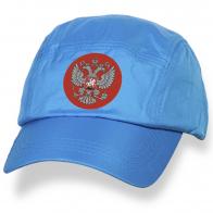 Легкая бейсболка с символикой России.