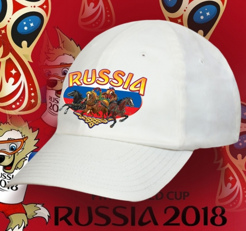 Легкая бейсболка RUSSIA: