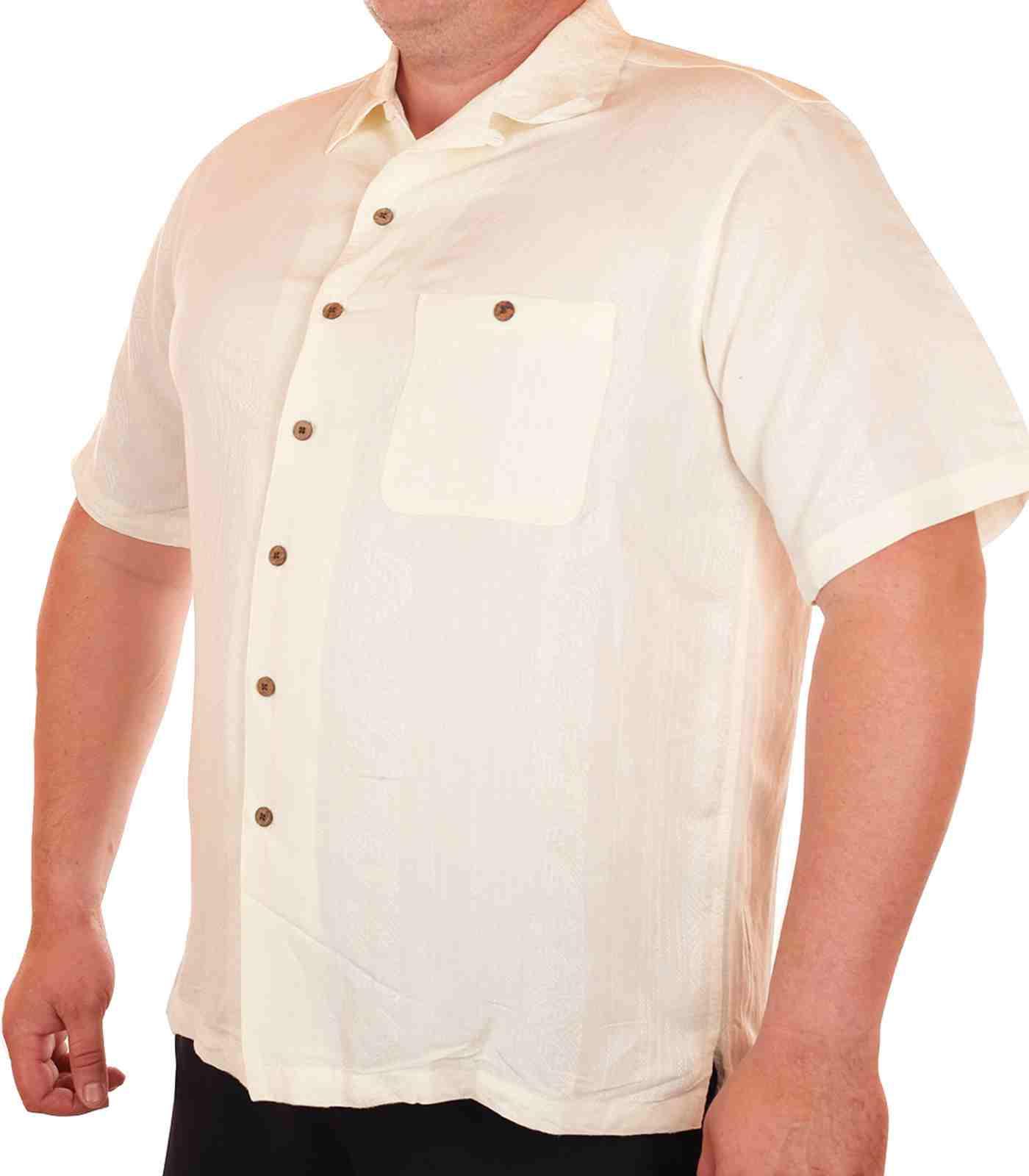 Лёгкая летняя мужская рубашка Caribbean-1