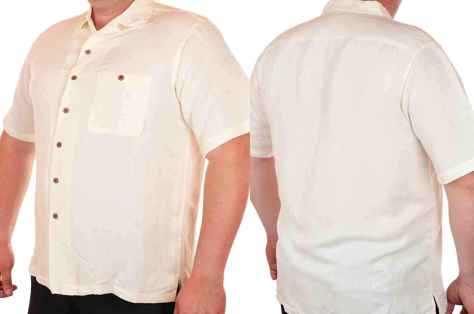 Лёгкая летняя мужская рубашка Caribbean-двойная