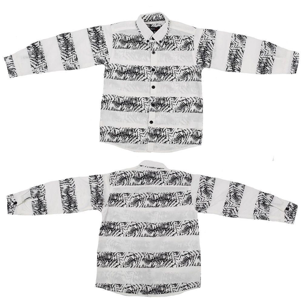 Лёгкая летняя рубашка с длинным рукавом Ideals-двойная