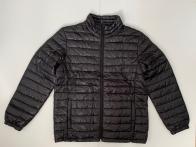 Черная короткая куртка для мужчин