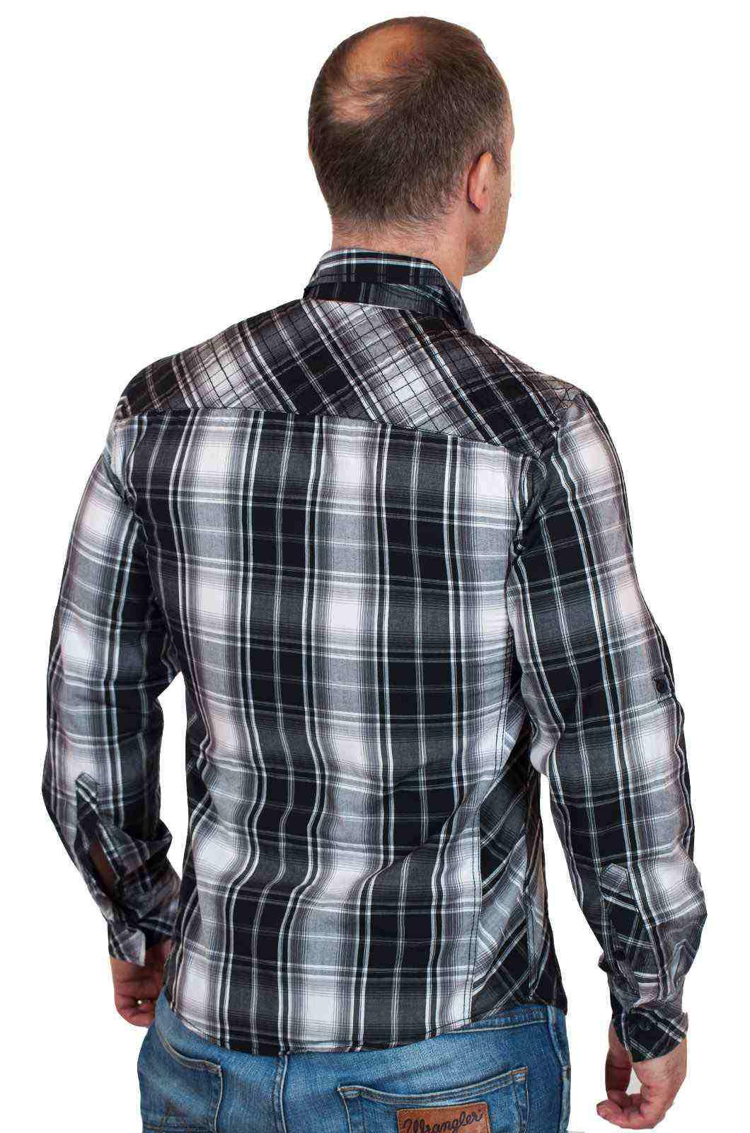 Лёгкая повседневная рубашка с длинным рукавом от Machine