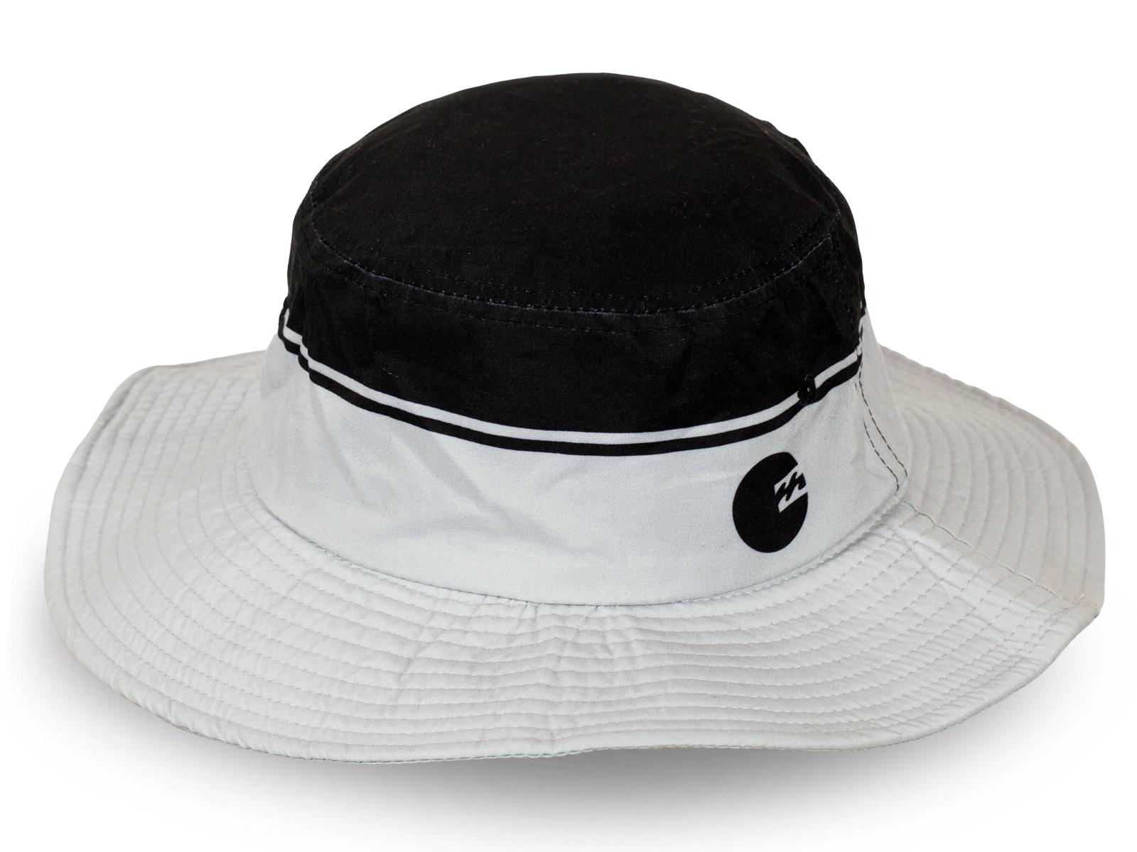 Лёгкая шикарная черно-белая шляпка