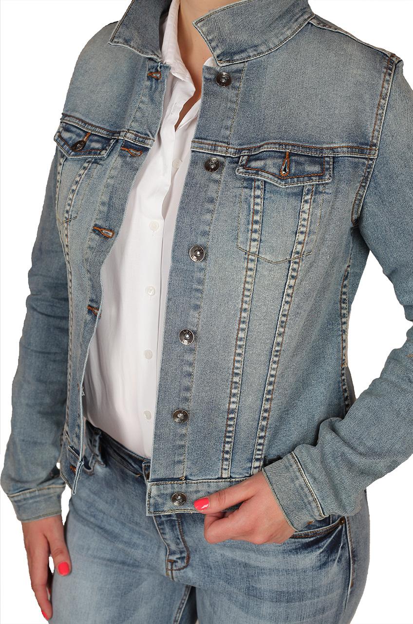 Легкая теплая джинсовая курточка от премиум-бренда LPD®
