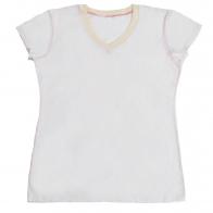 Легкая женская футболка для отдыха на пляже