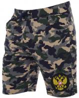 Легкие мужские шорты из камуфляжа