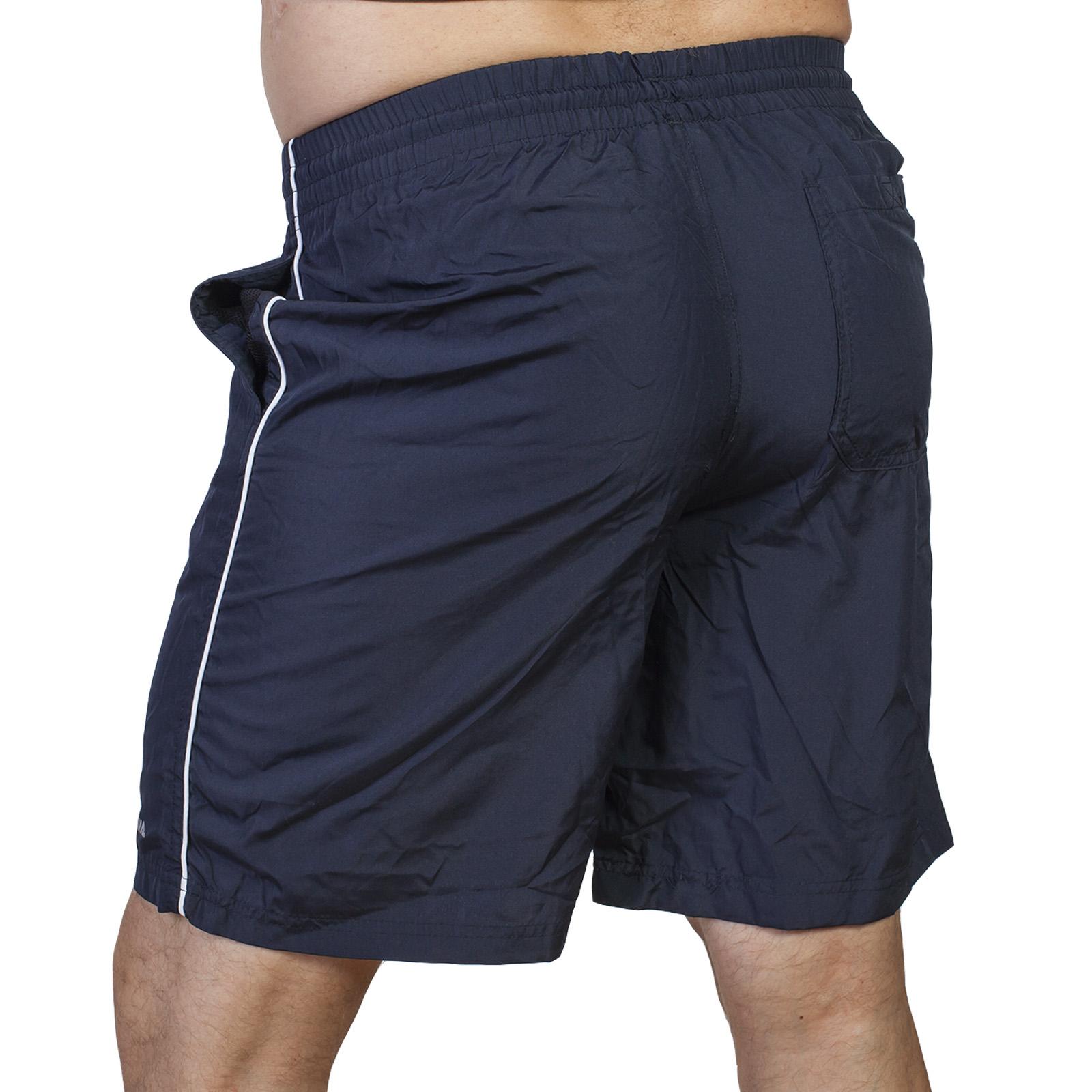 Купить в интернет магазине мужские синие шорты с карманами