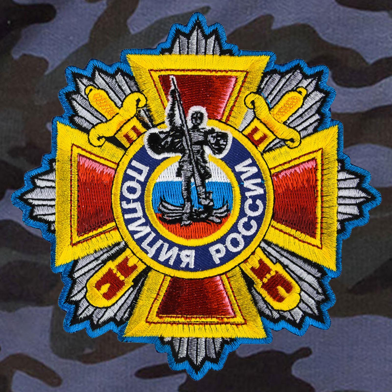 Лёгкие шорты Полиция России.