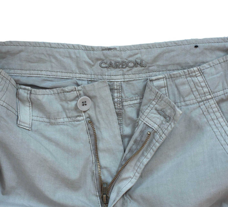 Легкие светлые шорты карго (Carbon) - ярлык