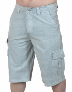 Легкие светлые шорты карго от Carbon