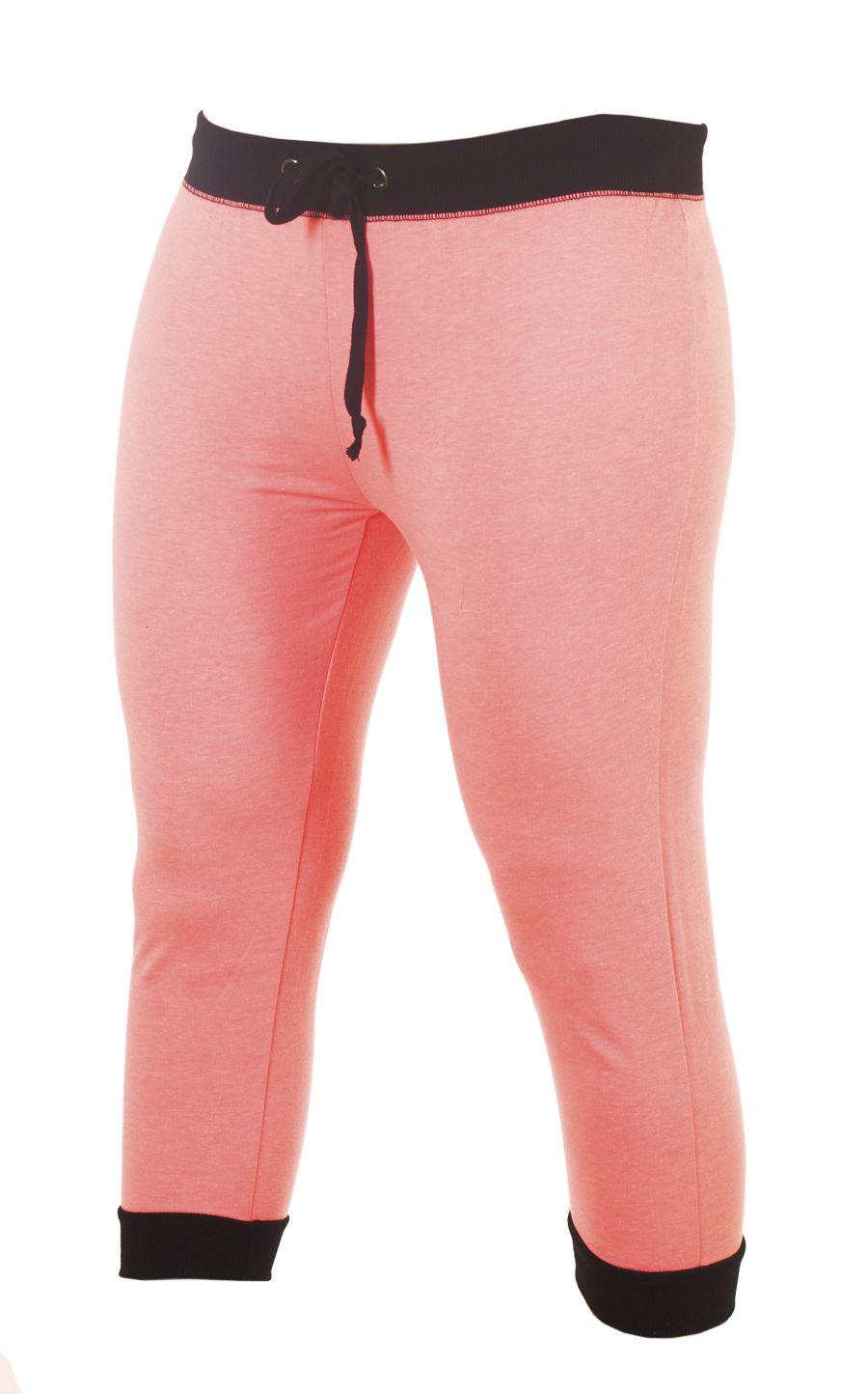 Легкие женские брюки капри для спорта Coco Limon