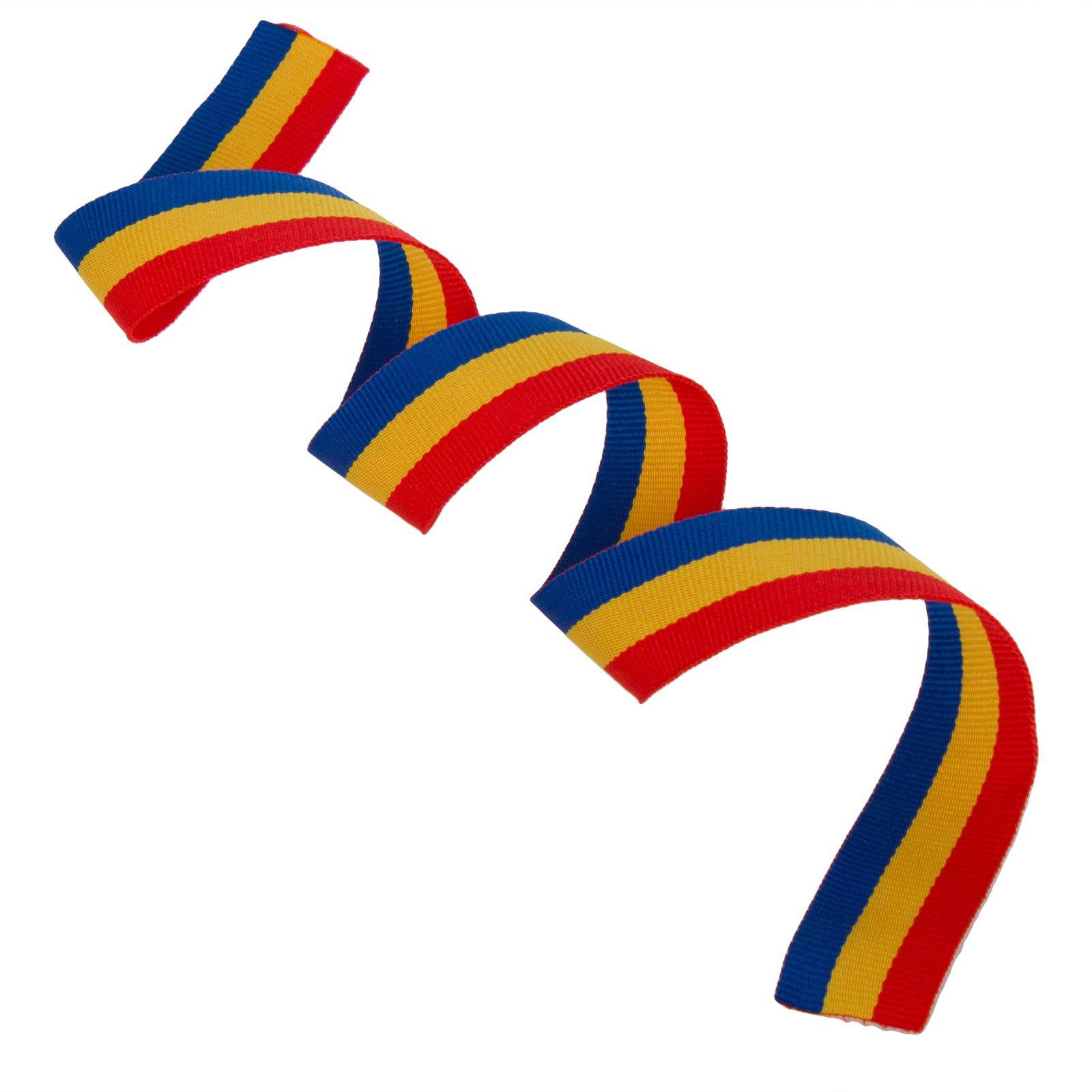 Лента триколор казачий (2,5 x 50 см)