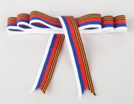 Георгиевская символика на лентах