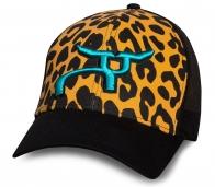Леопардовая женская бейсболка RopeSmart