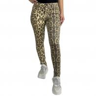 Женские зауженные леопардовые брюки Pieces