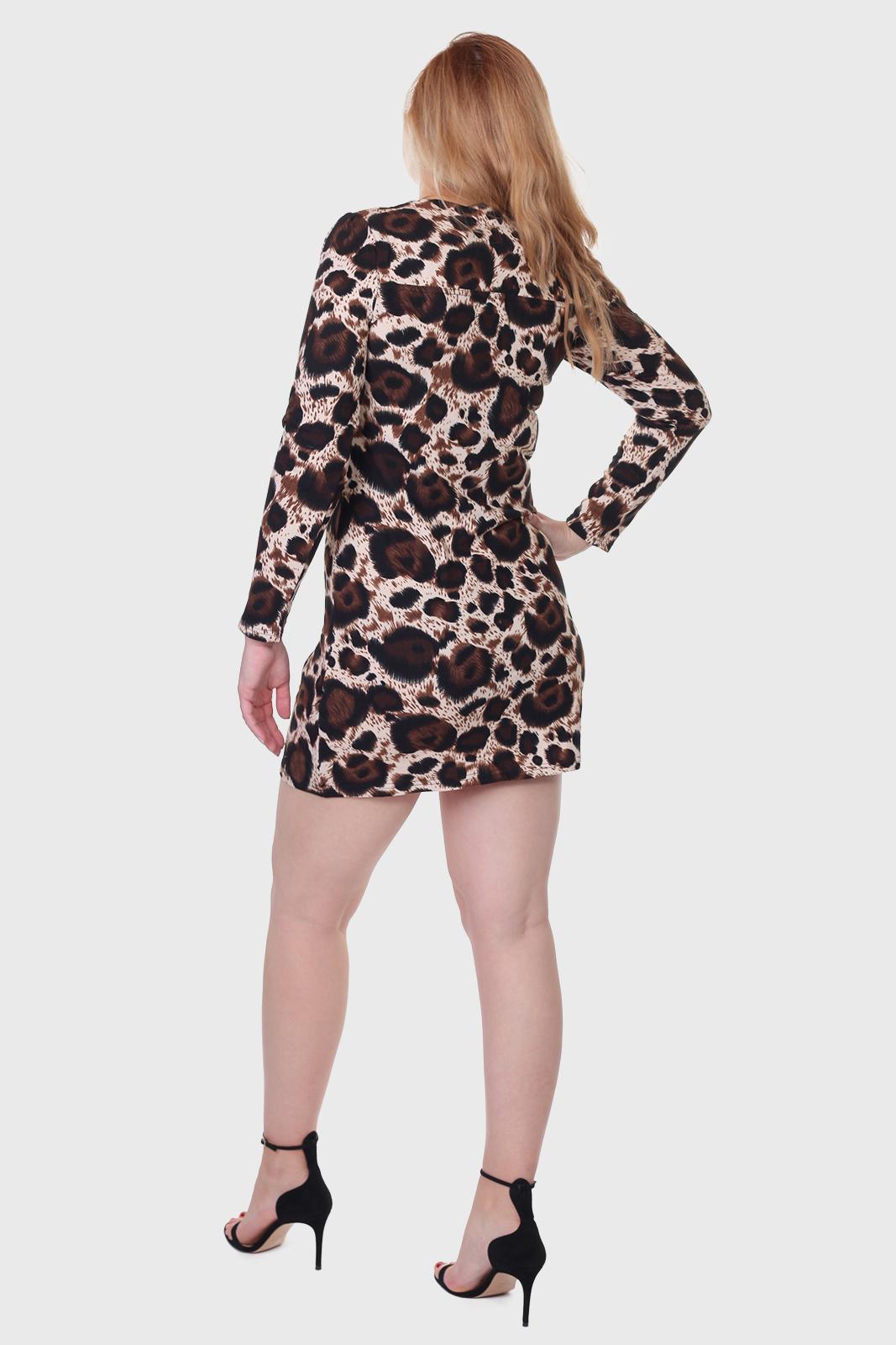Для хищниц! Леопардовое мини платье Ada Gatti.