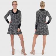 Женственное леопардовое платье ColleXion.