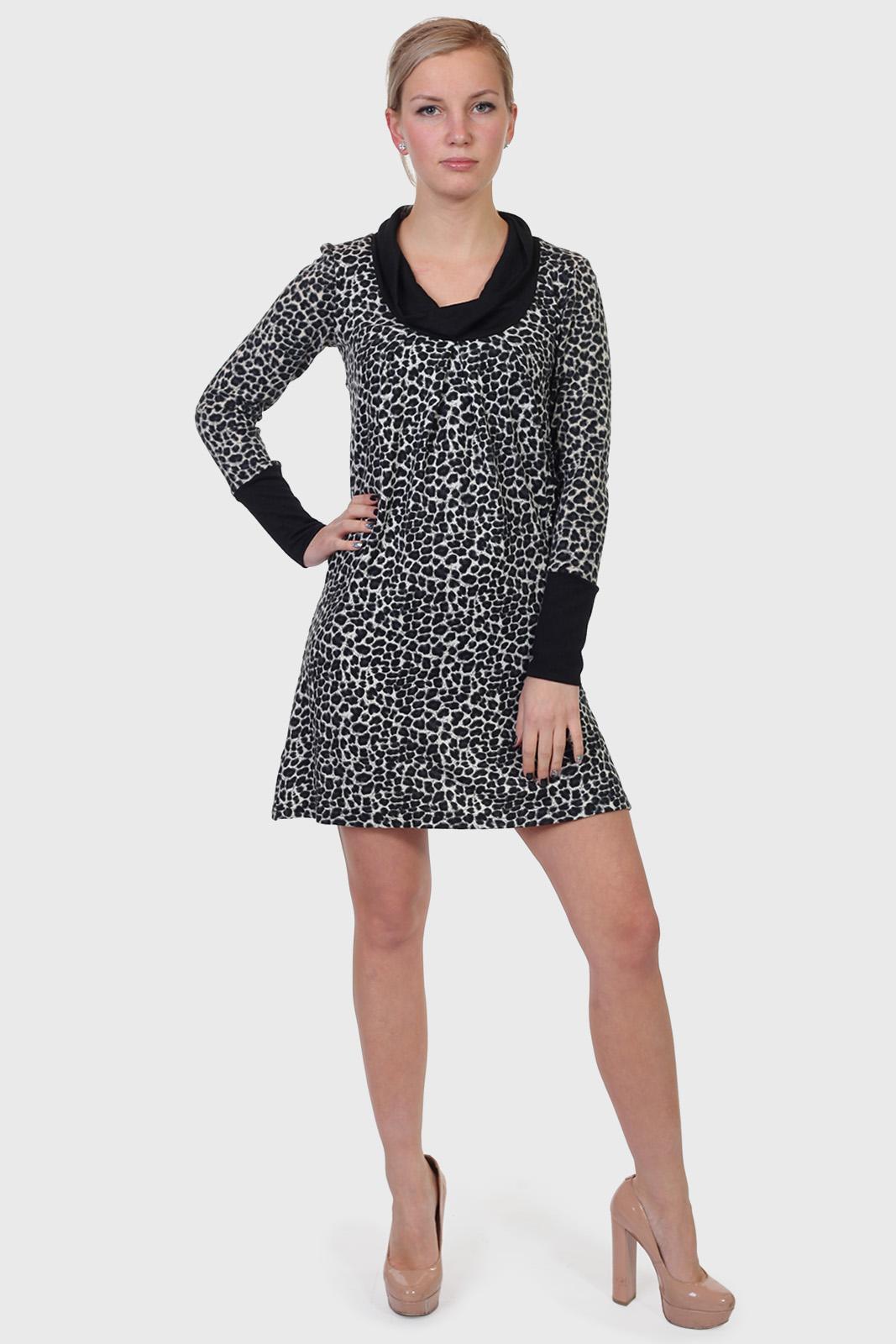 Леопардовое платье ColleXion