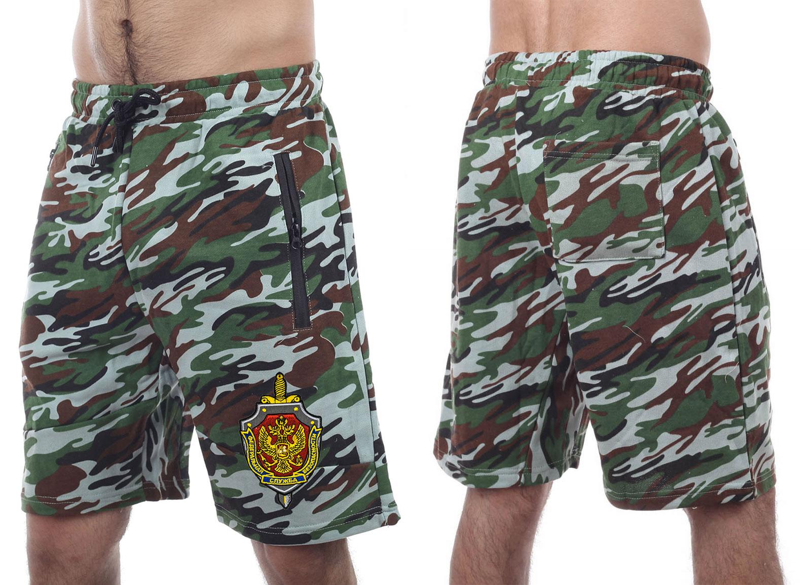 Летние камуфляжные шорты ФСБ оптом в Военпро