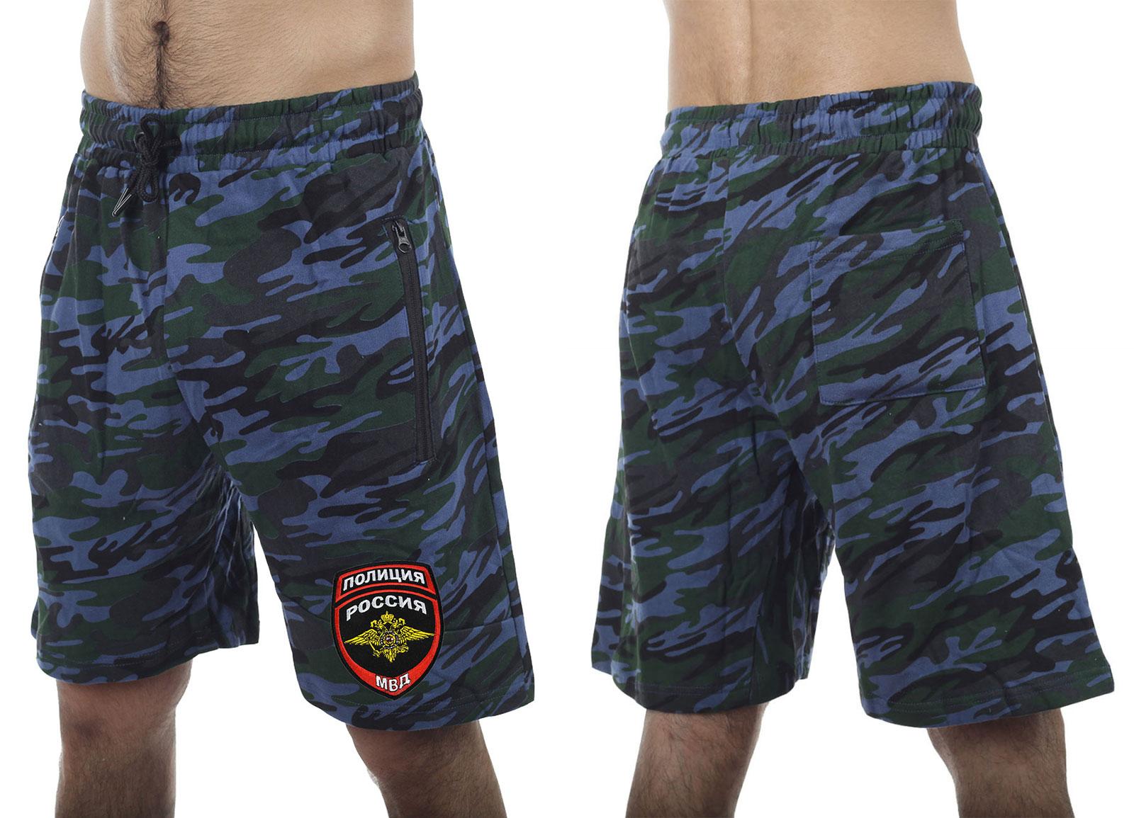 """Летние камуфляжные шорты """"Полиция"""""""