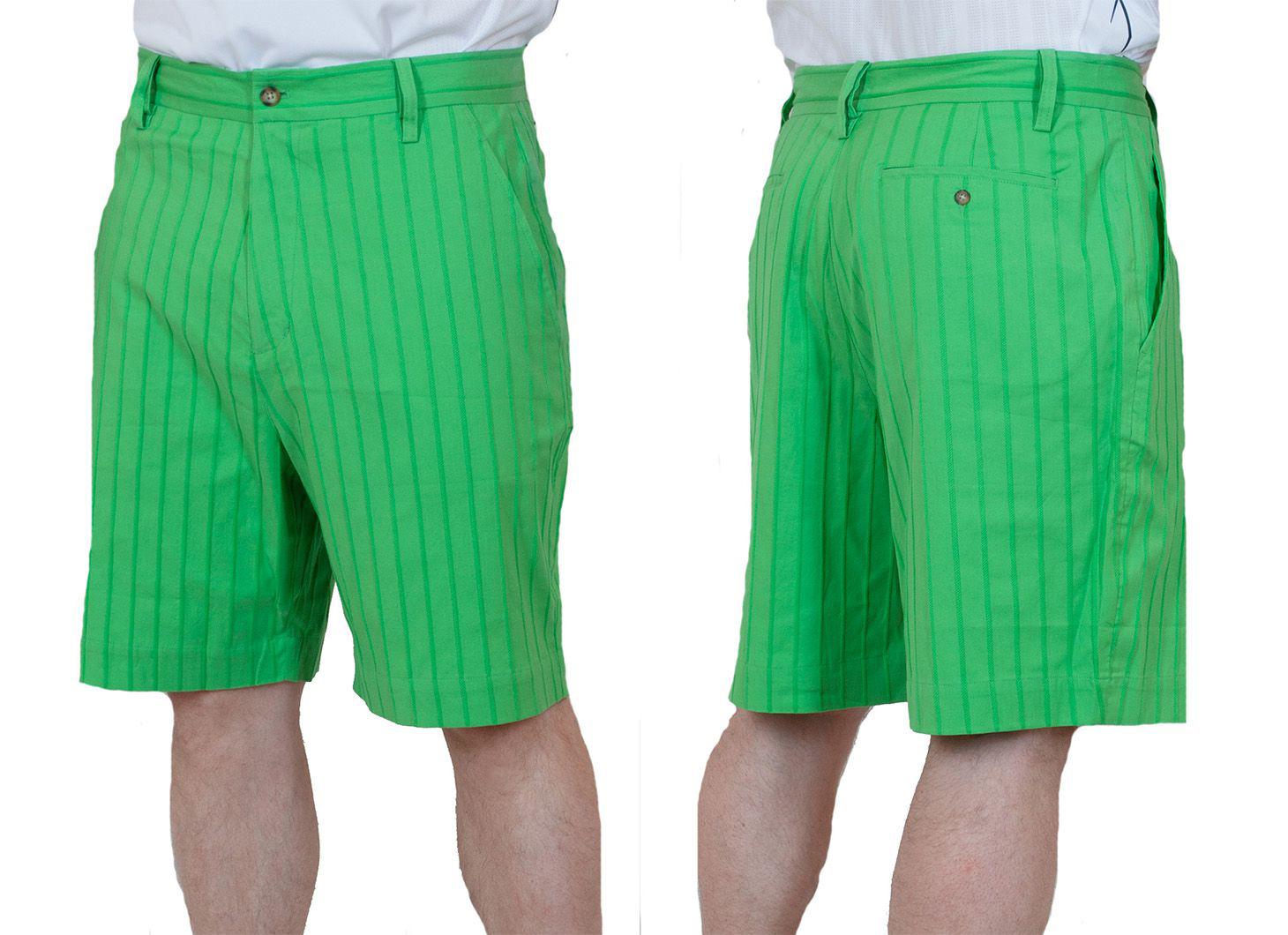 Заказать летние мужские шорты салатовые