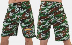 Летние мужские шорты для охоты с вышитой нашивкой