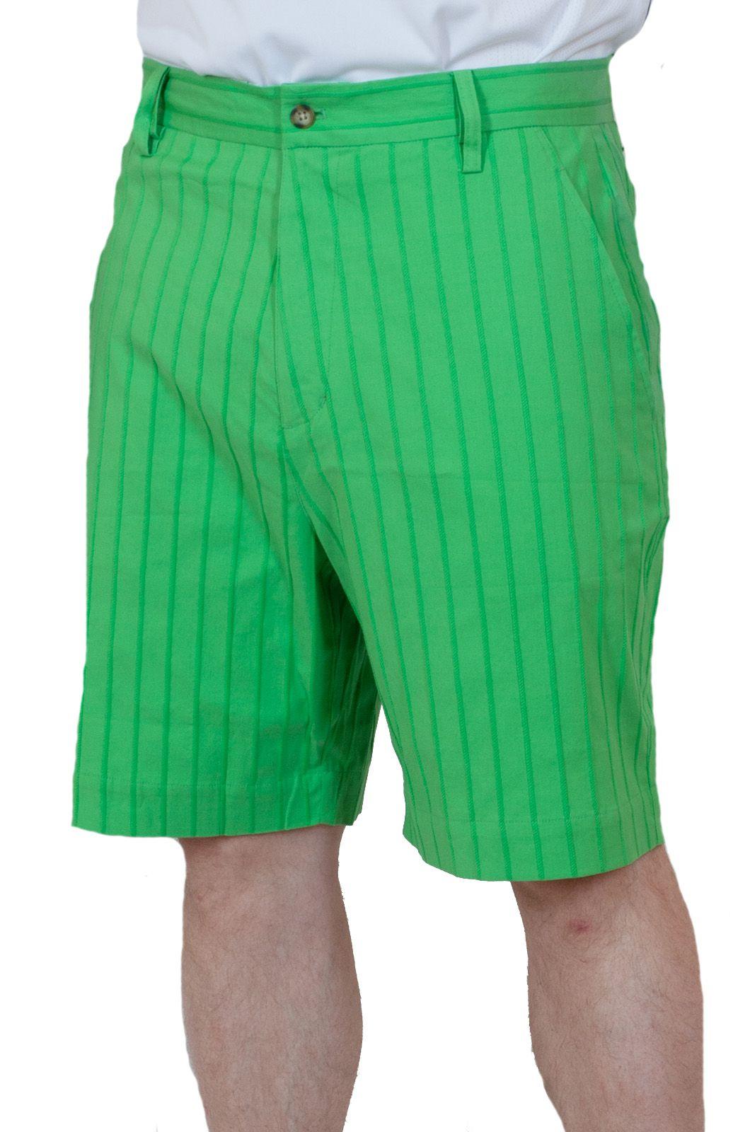 Летние мужские шорты салатовые