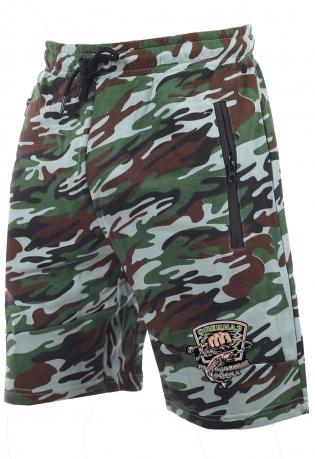 Летние мужские шорты с рыбацкой нашивкой Спецназ рыболовных войск купить онлайн