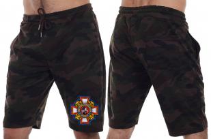 Летние мужские шорты с шевроном Потомственного казака купить онлайн