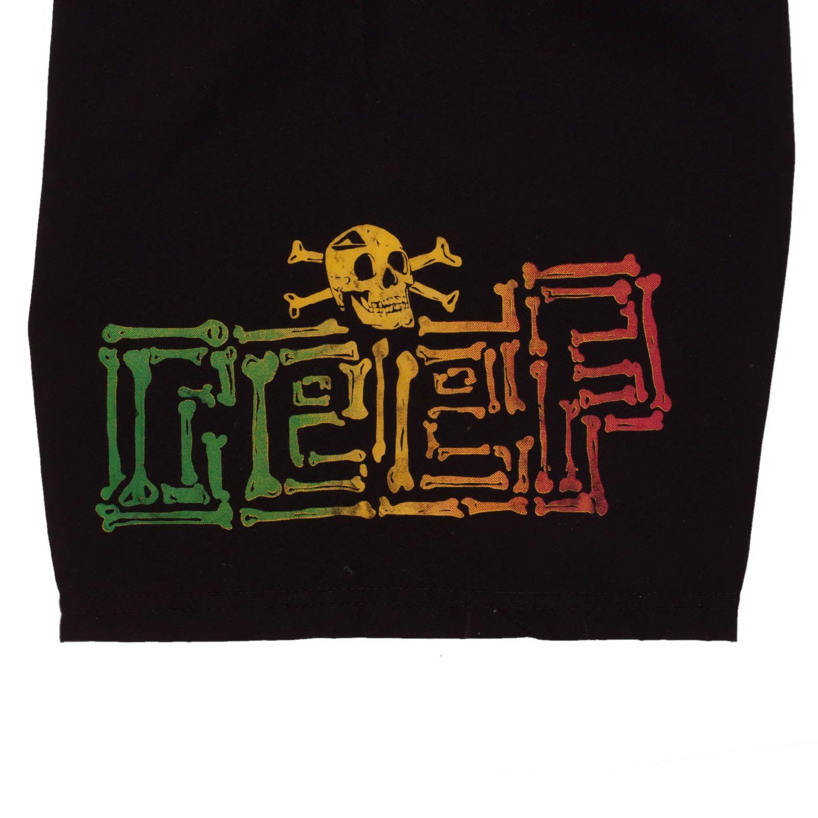 Летние подростковые шорты Reef - принт
