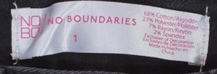 Летние женские шортики No Boundaries.