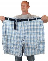 Летние шорты баталы в клетку (Foundry, США)