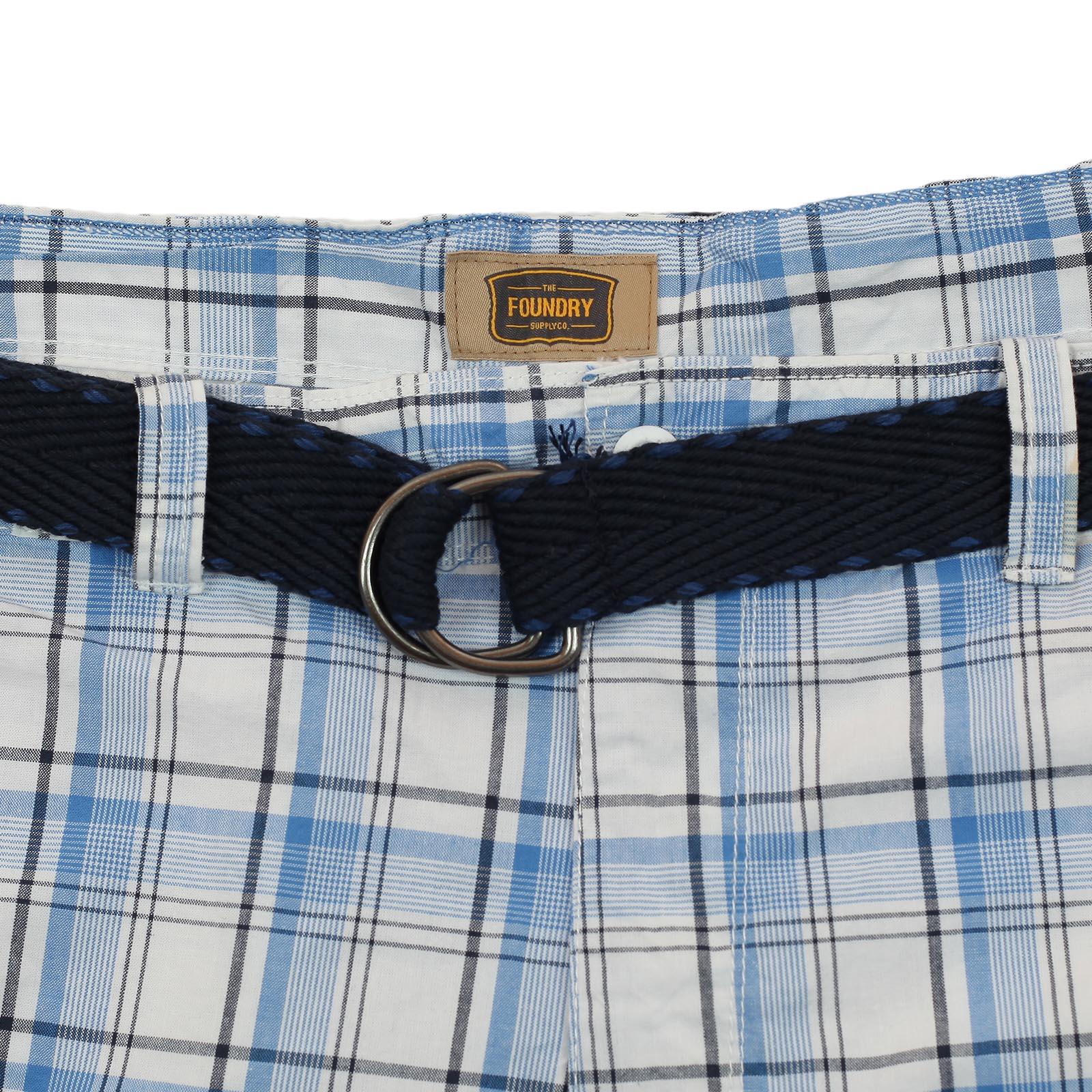 Брендовые летние шорты баталы в клетку - купить недорого